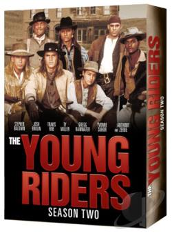 Young Riders: Season Two DVD Cover Art