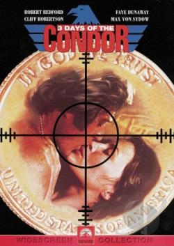 Three Days of the Condor DVD Cover Art