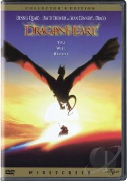 Dragonheart DVD Cover Art