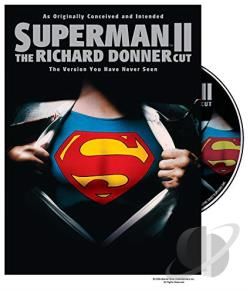 Superman II: The Richard Donner Cut DVD Cover Art