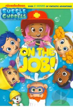 Bubble Guppies: On the Job! DVD Cover Art