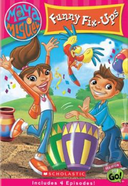 Maya & Miguel - Funny Fix-Ups DVD Cover Art