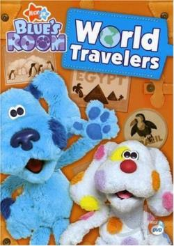 Blue's Clues - Blue's Room: World Travelers DVD Cover Art