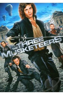 Three Musketeers DVD Cover Art