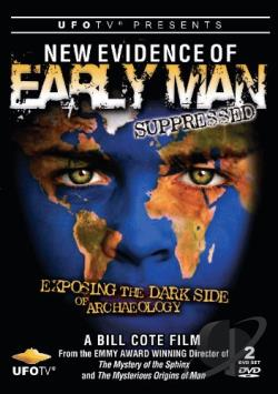 New Evidence of Early Man Suppressed DVD Cover Art