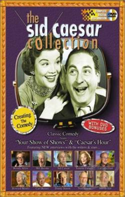 Sid Caesar Collection - Creating The Comedy DVD Cover Art