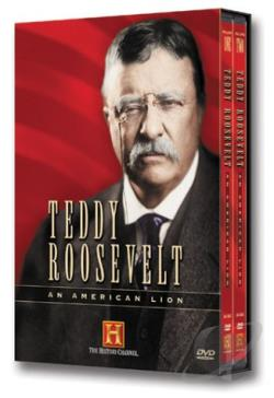 Teddy Roosevelt - An American Lion DVD Cover Art