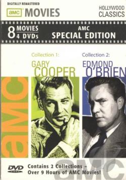 Gary Cooper & Edmond O'Brien DVD Cover Art