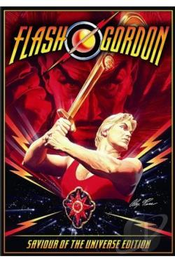 Flash Gordon DVD Cover Art