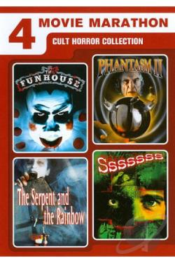 Cult Horror Collection: 4 Film Favorites DVD Cover Art