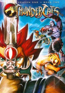 Thundercats on Thundercats  Season One   Book Two Dvd Cover Art
