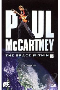Paul McCartney - The Space Within Us DVD Cover Art