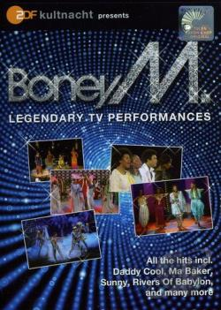 Boney M: Legendary TV Performances DVD Cover Art
