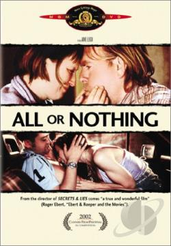 All or Nothing DVD Cover Art