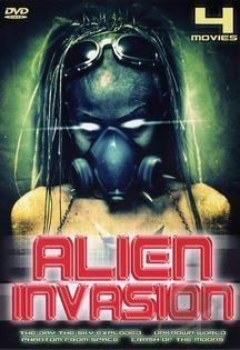 Alien Invasion - Four Movie Set DVD Cover Art
