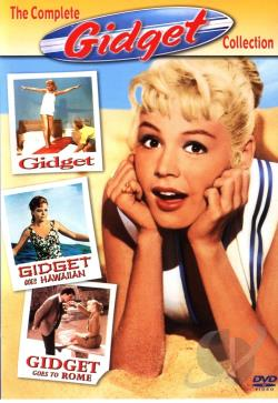 Complete Collection: Gidget, Gidget Goes Hawaiian, Gidget Goes To Rome DVD Cover Art