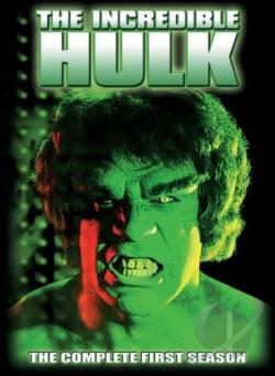 Incredible Hulk - The Complete First Season DVD Cover Art
