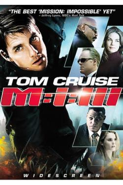 Mission: Impossible III DVD Cover Art