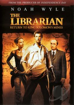 Librarian: Return to King Solomon's Mines DVD Cover Art