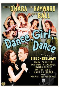 Dance, Girl, Dance DVD Cover Art