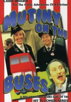 Mutiny on the Buses DVD Cover Art