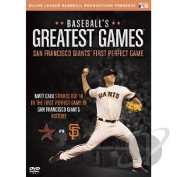 MLB: Baseball's Greatest Games - San Francisco Giants First Perfect Game DVD Cover Art