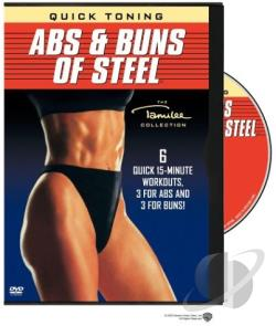 Quick Toning Abs & Buns Of Steel DVD Cover Art