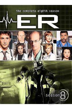 ER: The Complete Seasons 1-8 DVD Cover Art