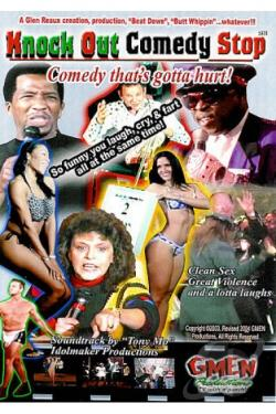 Knock Out Comedy Stop: Comedy That's Gotta Hurt! DVD Cover Art