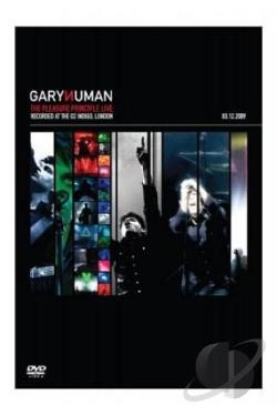 Gary Numan: The Pleasure Principle Live DVD Cover Art