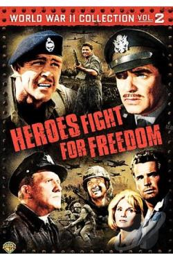 WW II Collection Vol. 2: Heroes Fight For Freedom DVD Cover Art