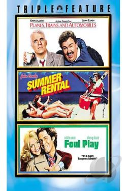 Planes, Trains & Automobiles/Summer Rental/Foul Play DVD Cover Art