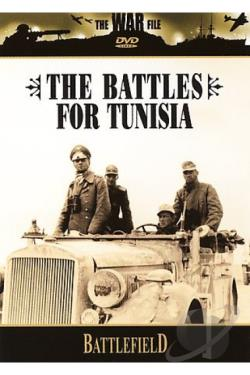 War File - Battlefield - The Battles For Tunisia DVD Cover Art
