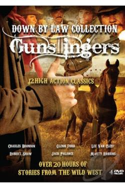 Gunslingers: Down by Law Collection DVD Cover Art