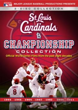 MLB: St. Louis Cardinals Championship Collection DVD Cover Art