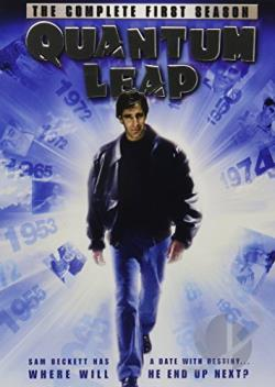 Quantum Leap - The Complete First Season DVD Cover Art