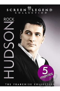 Rock Hudson: Screen Legend Collection DVD Cover Art
