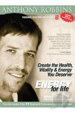 Anthony Robbins - Energy for Life DVD Cover Art