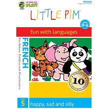 Little Pim: French, Vol. 5 - Happy, Sad and Silly DVD Cover Art