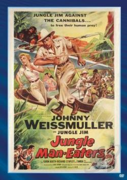 Jungle Man-Eaters DVD Cover Art