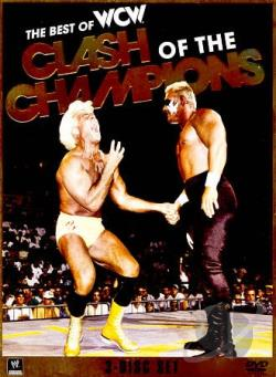 WWE: Best of WCW Clash of the Champions DVD Cover Art