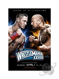 WWE: Wrestlemania XXVIII BRAY Cover Art