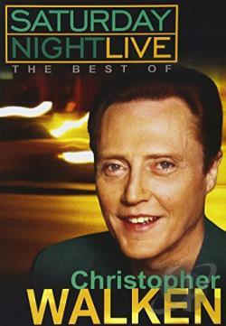 Saturday Night Live - Best of Christopher Walken DVD Cover Art