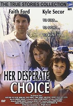 Her Desperate Choice DVD Cover Art