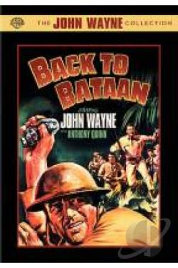 Back to Bataan DVD Cover Art