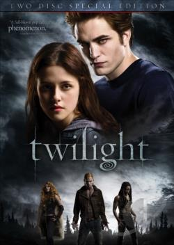 Twilight DVD Cover Art