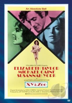X, Y and Zee DVD Cover Art