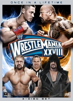 WWE: Wrestlemania XXVIII DVD Cover Art