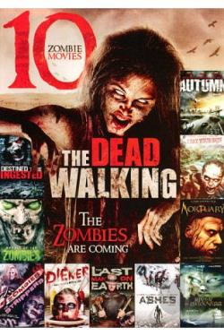 Walking Dead: 10 Zombie Movies DVD Cover Art
