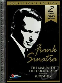 Frank Sinatra - 2 Pack: Suddenly/The Man With The Golden Arm DVD Cover Art